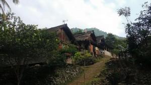 Perkampungan warga ada kesepuhan di Lebak, Banten. Mereka perlu perlindungan dan pengakuan, terlebih sebagian dari wilayah hidup mereka masuk dalam Taman Nasional Halimun Salak.