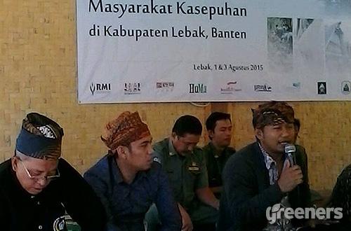 DPRD dan RMI Inisiasi Raperda Perlindungan Masyarakat Kasepuhan Lebak